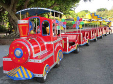 Exclusive made electric ride on train, amusements rides electric train for sale
