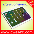 KT096H 3G Android Tablet PC 9.6 Inch Capacitive Touch Screen 1GB RAM/16GB ROM WiFi GPS cheapest tablet pc made in china