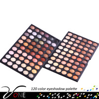 120 color romantic color eye shadow, Matte & Warm color Eyeshadow palette