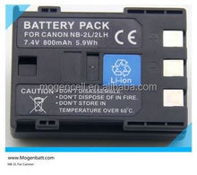 CAMERA battery Camera Battery for CANON NB-2LH NB-2L BP-2L5 for EOS 350D NB2L Camera battery for canon