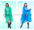 Gomiek thin EVA bat style raincoat poncho for adult