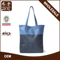 High quality stripes PU hand bags for ladies