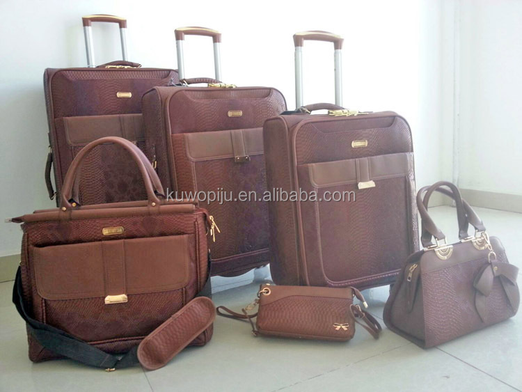 new model lugagge bag unique luggage set
