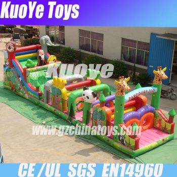 factory price obstacle camouflage inflatable military obstacle course