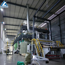 High Quality 2.4m SSXS PP Spunbond nonwoven fabric making machine