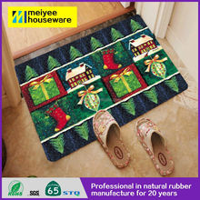 high quality rubber door mat,Hot sale 100% polyester hand tufted door mats