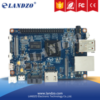 LANDZO free shipping original Banana Pi M1+ plus A20 Dual Core 1GB RAM with Open-source SBC BPI M1+ raspberry pi compatible