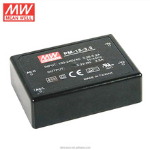 MEAN WELL 15W 3.3V 3.5A Single Output UL CUL Medical Type AC/DC Switching Power Supply PM-15-3.3