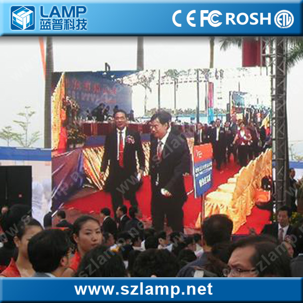 outdoor p8 ultra slim led screen portable led screen led video xxx china