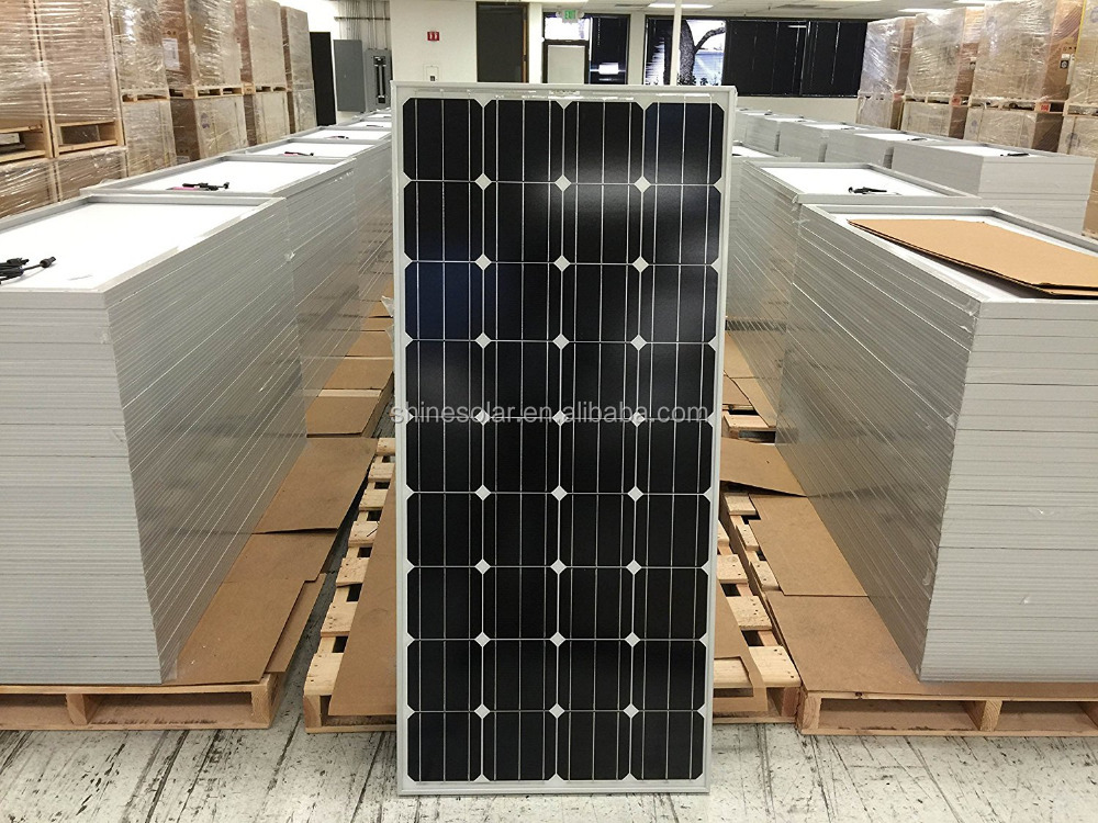 2017 high efficiency IEC CSA TUV certificated 12v 150w solar panel in stock