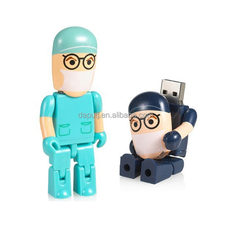 Colorful minifigure usb flash drive like doctor shape,USB momery sticks with your logo