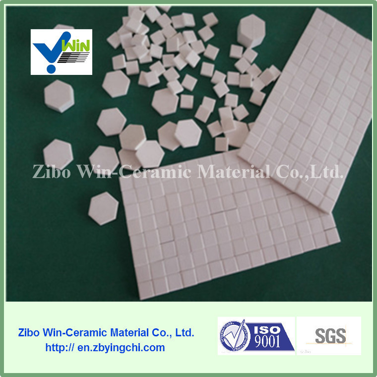wholesale high temperature resistant hard wear hexgonal alumina <strong>ceramic</strong>