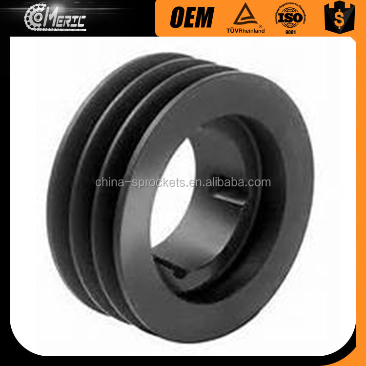Smooth Operation Cast Iron Pulley Wheels V Belt Pulley