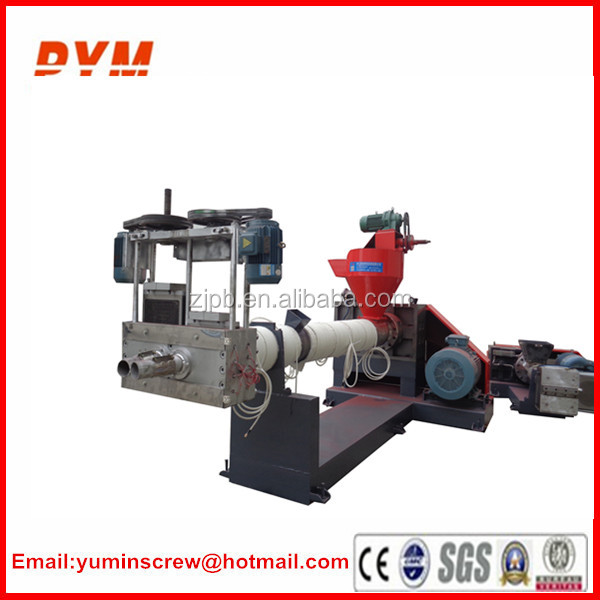 PE film two stage granulating line
