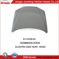 Car Accessories Supplier Hyundai Elantra 2003 Hood Bonnet