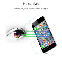 Tempered glass free english blue films for mobile phone screen with eyes protection