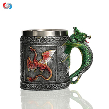 Royal Dragon Skull Mug Serpent Medieval Collectible Stein For Promotion Gift