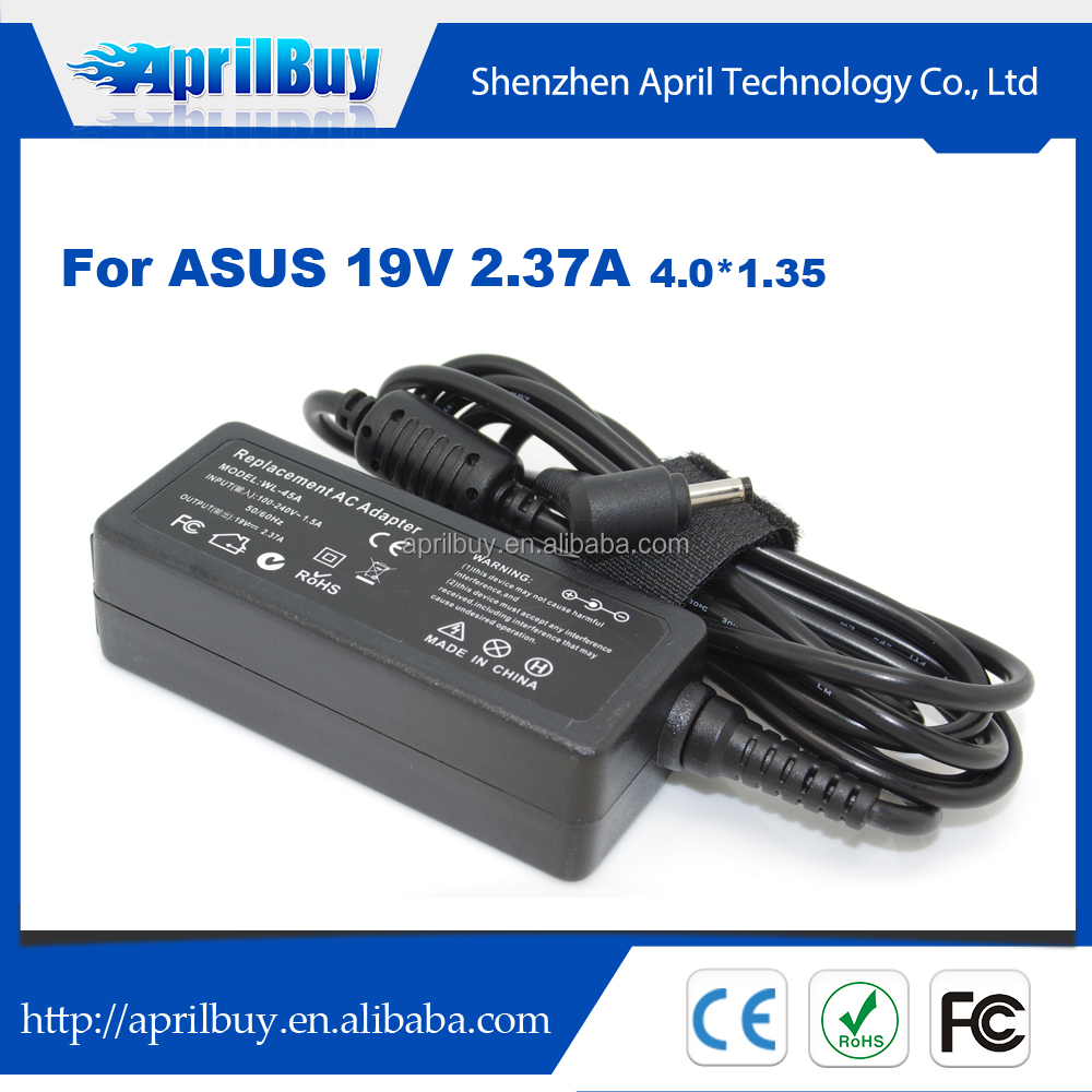 Battery Charger For Asus 19V 2.37A 45W ADP-45AW AC Adapter For Asus Ultrabook