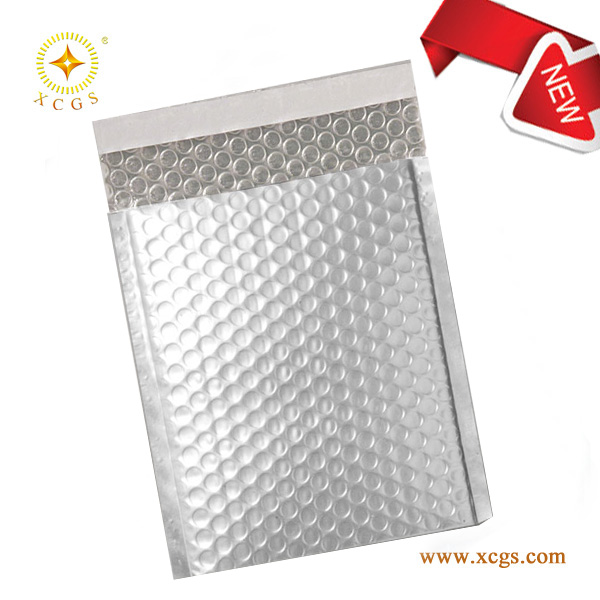 shiny bubble mailer / Custom Printed metallic Shipping Bag /DHL, UPS Courier Mailer / Custom Printed Poly Mailing