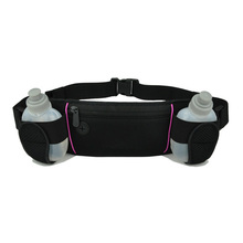 Water Bottle Waist Pack and Running Hydration Belt