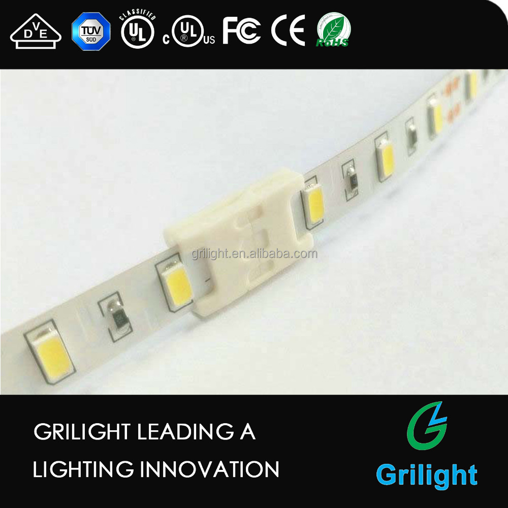 Grilight latest style soderless led stripe connector cable for option