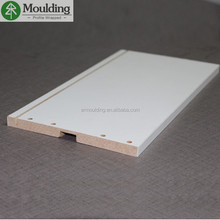 Paper wrapped MDF Mouldings for Furniture Inside Corner Decoration