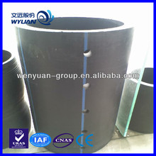 high quality hdpe perforate pipe for water draining