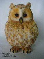 The new style resin statue christmas decoration owl