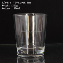 Clear Round Anhui Shot glass