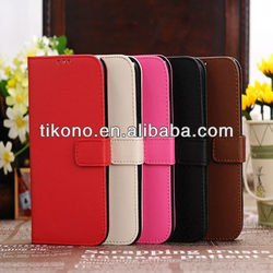 Manufacturer supply cross pattern leather cases,s4 smart cover