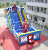 Hot sale commercial inflatable spiderman slide, commercial inflatable slide