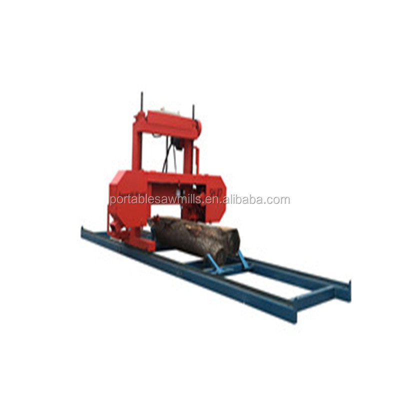 "Two Column Portable Wood Band Saw Machine 27"" Log Cutting Machine"