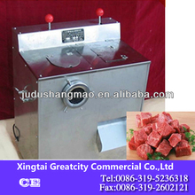 Automatic stainless steel meat dicing machine