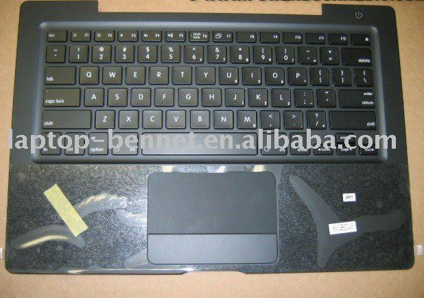Keyboard with Top Case Trackpad Black For Apple MacBook A1181