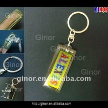 flashing key chain with solar