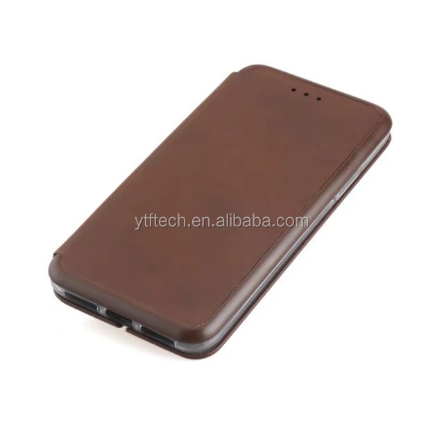 Brush new arrival shell hand make leather 2 in 1 TPU PU cell phone cover for Samsung A7