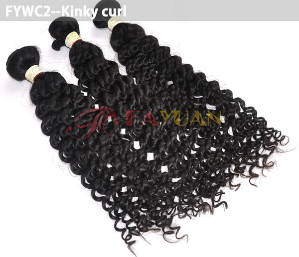 Fashionable hair best selling high quality hair non-processed tangle-free Eurasian Afro Kinky Weave