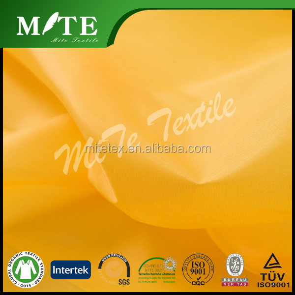 100% nylon 210t taffeta in dyed and plained in good price