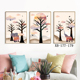 3 Panel Canvas Still Life Modern Wall Art Poster Print Popular Picture Home Decoration