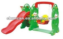 indoor swing slide for kids plastic slide and swing