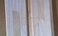China New 3mm kiri solid wood slats for sale / kiri finger jointed boards