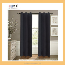 Readymade fabric travel grommet blackout curtain