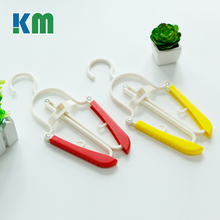 China Factory Supply Used Stackable Folding Clothes Hangers