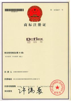 Doflex New Design Fashion Style ACS SGS CE Certificated flexible High Pressure steam hose