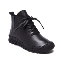 Latest women woman genuine leather sport shoes