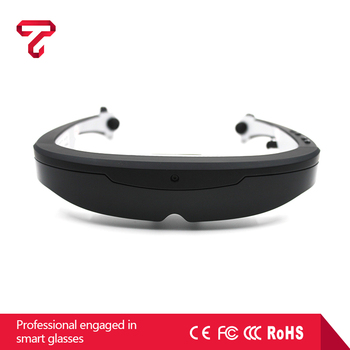 W2 Android Wifi video glasses mobile theater support AR software 3D smart glasses