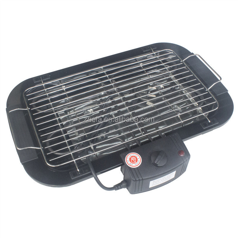 Portable electric mini barbecue set BBQ grill