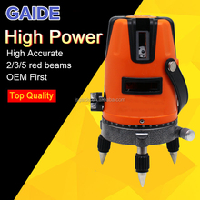 OEM price rotary cross line self leveling 4v1h rotating laser level