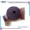 wholesale abrasive circular brass round wire brush/ nylon wire disc brush for cleaning