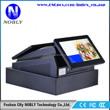 hot sale! easy operated all in one cash register with drawer and printer inbuilt